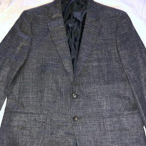 Isaia Base Sanita Wool/Cashmere Grey Jacket